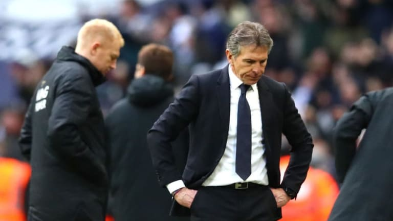 Claude Puel Issues First Public Statement Since Leicester City Departure