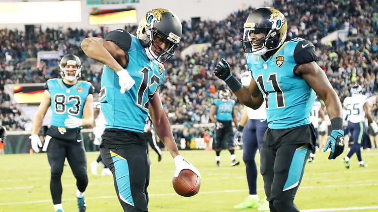 The Jaguars Found the Right Quarterback for Dede Westbrook