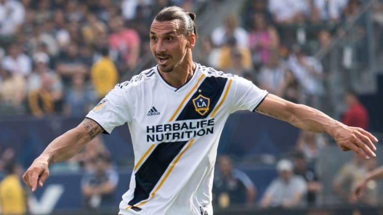 Zlatan Ibrahimovic promete romper todos los récords de la MLS