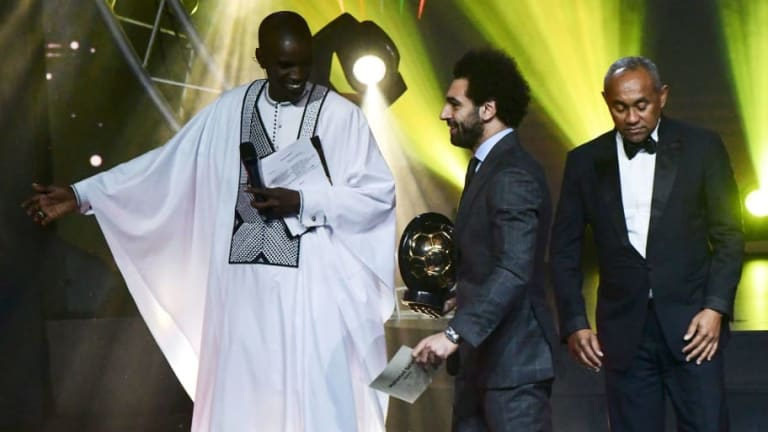Video: Mohamed Salah Dances Awkwardly Following CAF Player of the Year Award Win