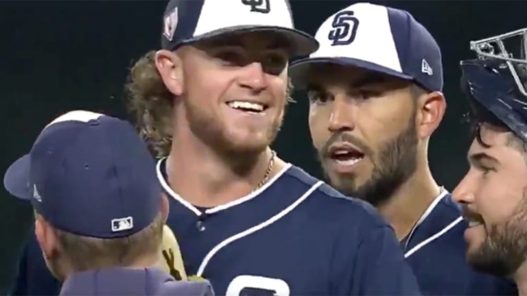 Watch: Padres Tell Chris Paddack He Made the Roster During a Mound Discussion