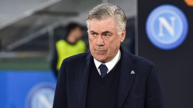 Roma vs Napoli: Carlo Ancelotti's Best Available Partenopei Lineup