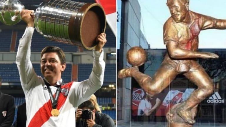 Así será el diseño de la estatua de Marcelo Gallardo