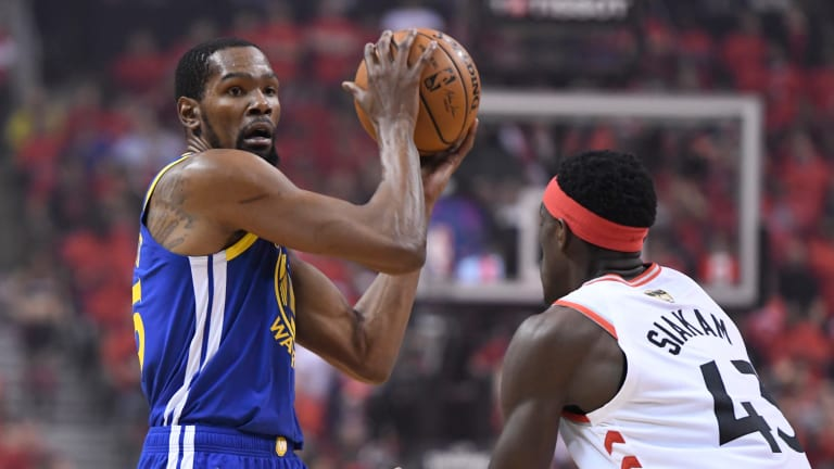 Kevin Durant Out for NBA Finals Game 5 With Lower Leg Injury, Will Receive MRI Tuesday
