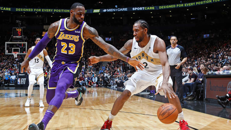 Are the Lakers Frontrunners for Kawhi Leonard? | Open Floor Podcast