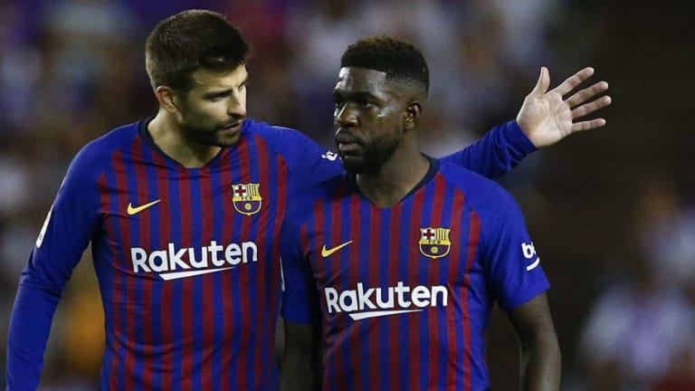 Samuel Umtiti Unhappy at 'Complicated' Situation as Barcelona Want €70m for Man Utd & Arsenal Target