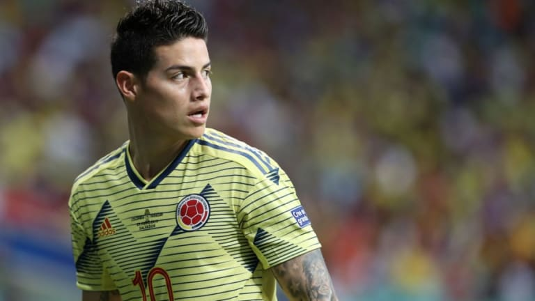 James Rodríguez dispuesto a esperar a una oferta del Atlético de Madrid