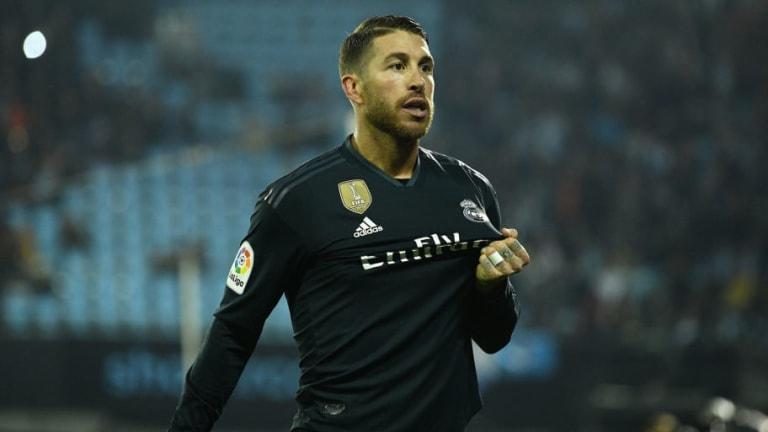 CAPITÁN | Sergio Ramos viajó con su coche particular para estar con sus compañeros en Valladolid