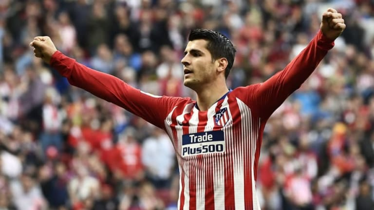 Chelsea Threaten to Cut Alvaro Morata's Loan Short as Atletico Madrid Stall Over £50m Option to Buy