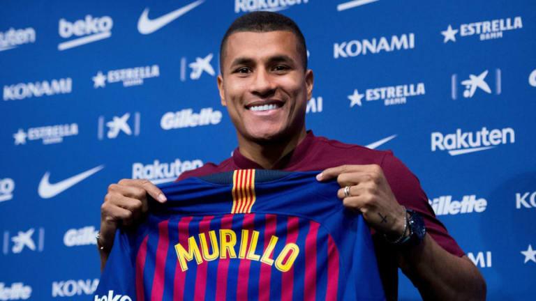 Jeison Murillo admite que su llegada al Barça empezó como una broma