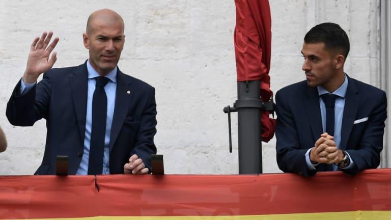 Ceballos se 'retracta' de los comentarios que había hecho sobre Zidane tras su partida del Real Mad