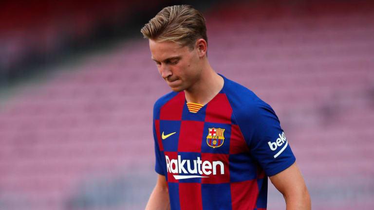 De Jong rechazó llevar el dorsal 14 en el FC Barcelona