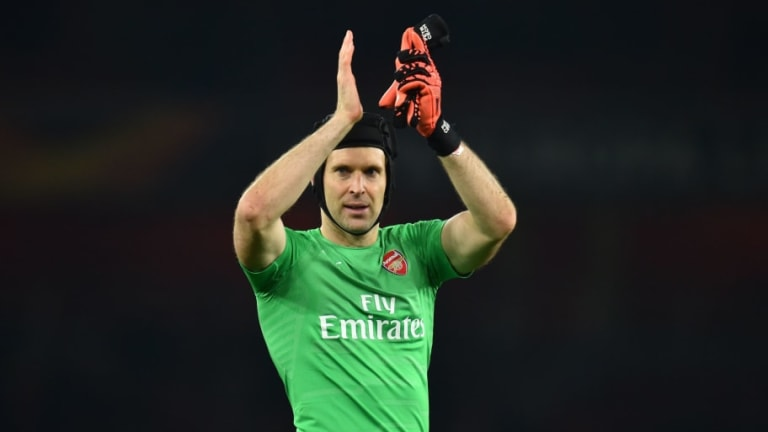 Petr Cech Insists Arsenal Can Overturn Europa League Deficit After Shock Rennes Defeat