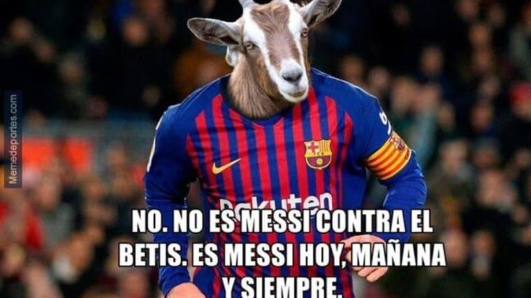 Los mejores memes del triunfo del Barcelona, el 'marciano' Messi, el golazo de Suárez y más