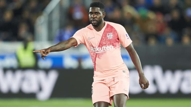 Samuel Umtiti 'Refusing to Listen' to Offers as Nelson Semedo Pushes for Barcelona Exit