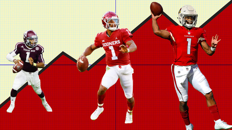 Kyler Murray's Unfathomable Rise to the Top of the NFL Draft