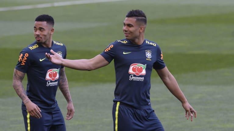 Un ex directivo del Inter reveló que Casemiro y Gabriel Jesus pudieron haber jugado en Italia