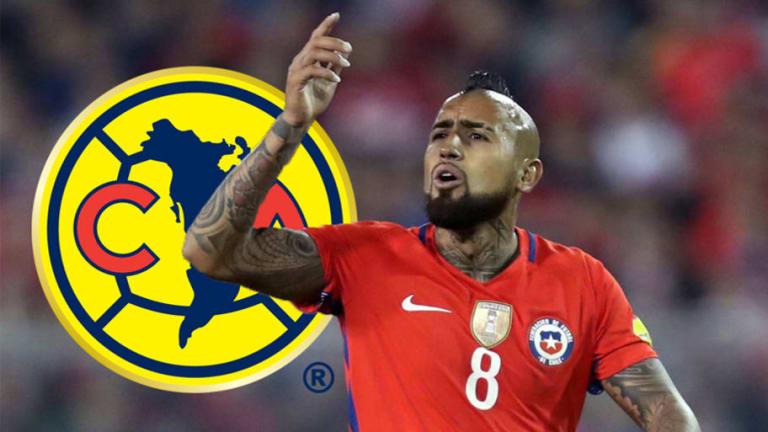 El nuevo guiño de Arturo Vidal a las Águilas del América