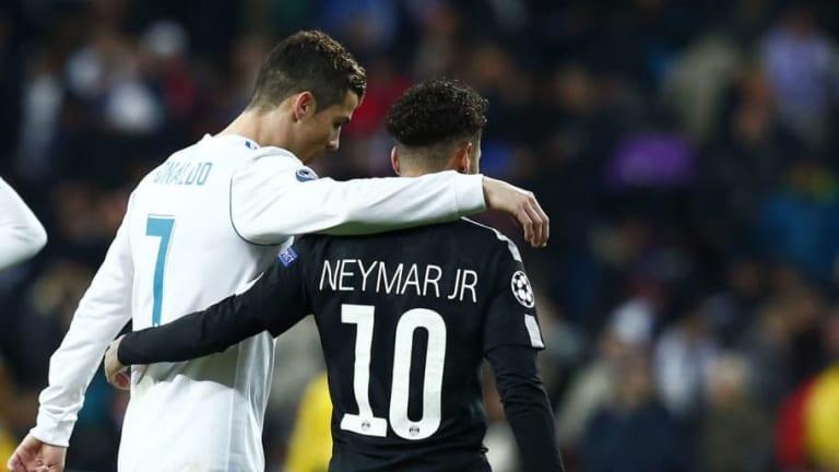 La respuesta de Cristiano Ronaldo sobre los rumores del futuro de Neymar