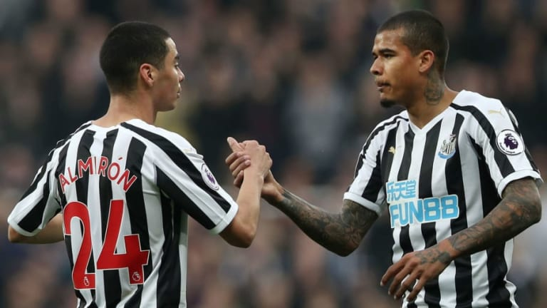 Salomon Rondon Claims Miguel Almiron Gives Newcastle a 'Different Dimension' After Huddersfield Win
