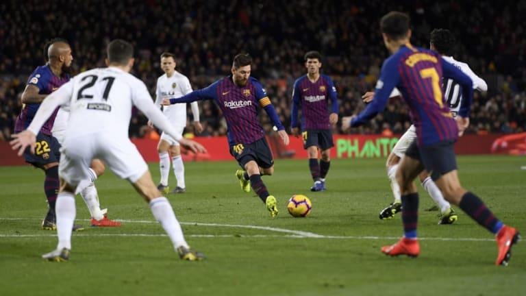 La zurda de Messi también sería Pichichi de La Liga