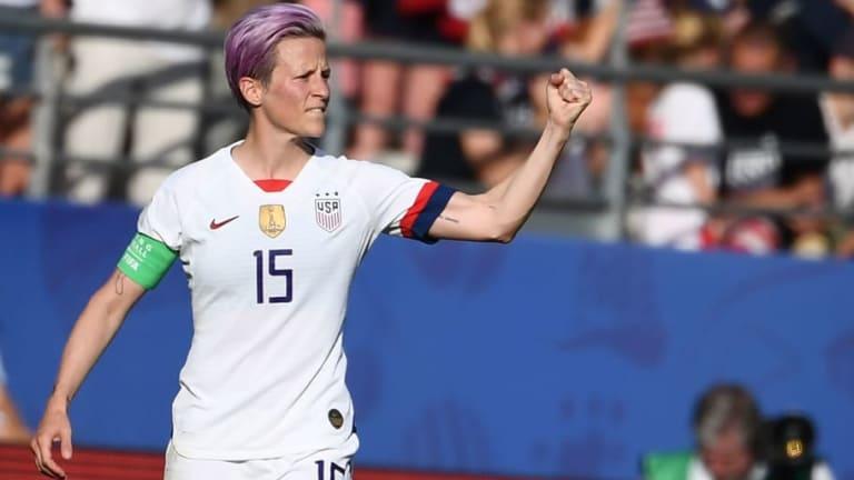 """Megan Rapinoe, futbolista estadounidense: """"No voy a ir a la p*** Casa Blanca"""""""