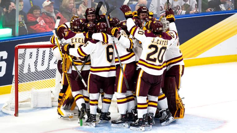 Minnesota Duluth Beats Providence to Advance to Frozen Four Final