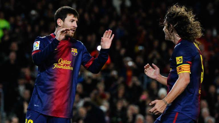 Carles Puyol explicó por qué Messi no juega igual en el FC Barcelona y en Argentina