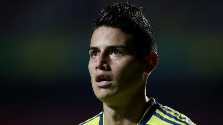 Napoli Prepared to Offer James Rodriguez Famous No.10 Shirt in Bid to Finalise Move From Real Madrid