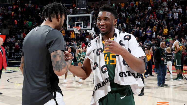 What Have Playoffs Taught Us about Donovan Mitchell, D'Angelo Russell? | Open Floor NBA Podcast