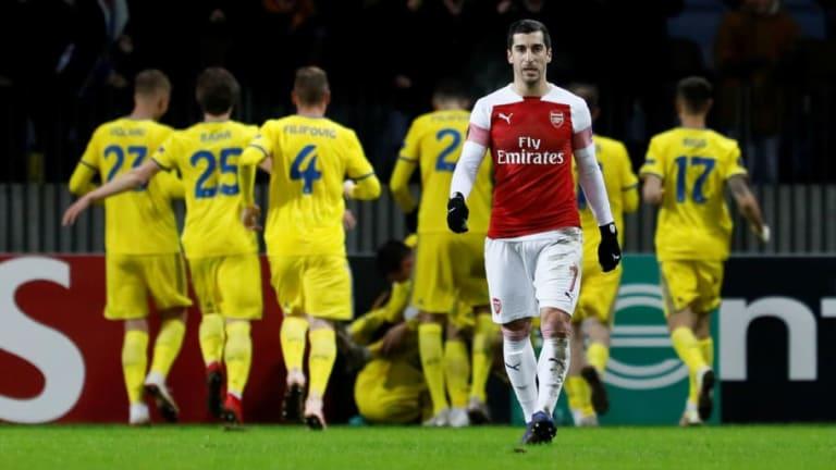 Amazing Shkodran Mustafi Stat Emerges After BATE Borisov's Europa League Win Over Arsenal