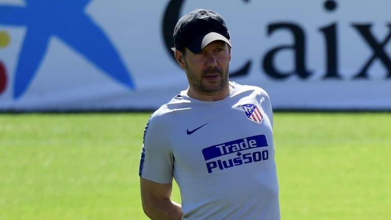 """Simeone: """"Tengo que jugar como mi equipo me lo permita"""""""