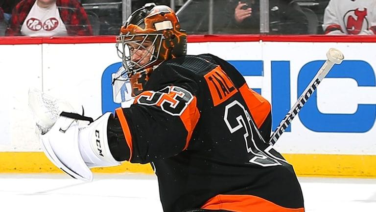 Flyers Set NHL Record Using Eighth Goaltender This Season