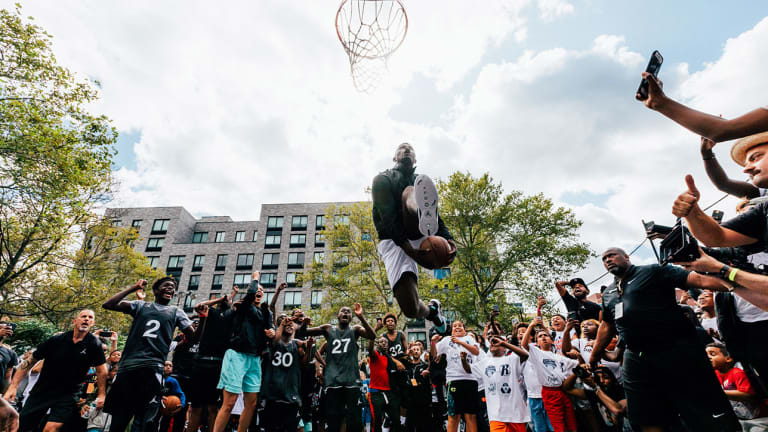Behind the Scenes of the Air Jordan 34 Launch With Zion Williamson