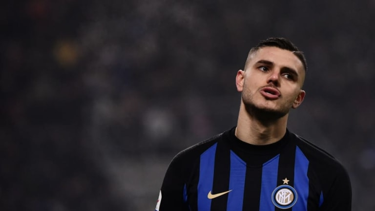 Inter Fine Mauro Icardi €100,000 For Turning Up Late to Training Amid Contract Tensions