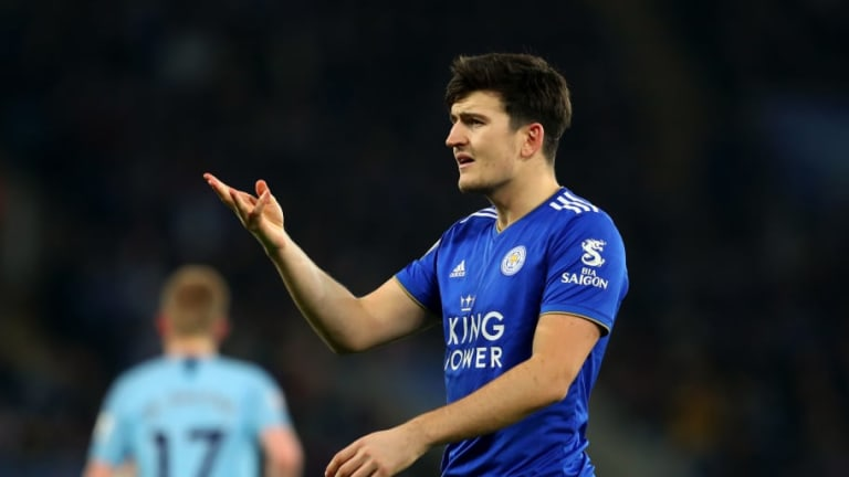 Man Utd & Man City Remain Confident Leicester City Will Lower Harry Maguire's £100m Price Tag