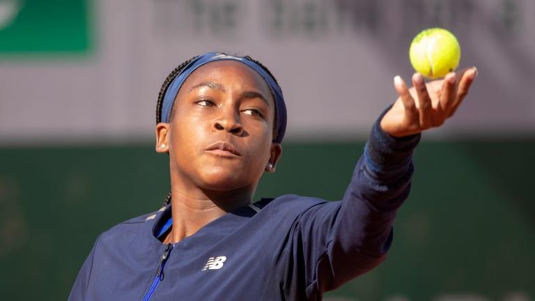 American Coco Gauff, 15, Qualifies for Wimbledon Main Draw