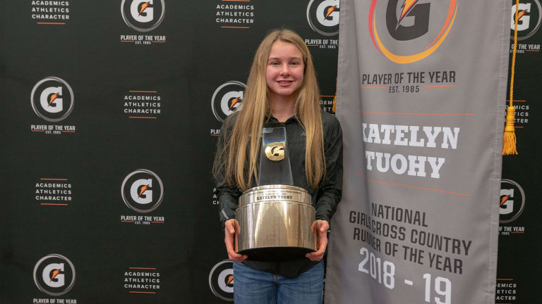 Katelyn Tuohy Wins Gatorade National Girls Cross Country Runner of the Year Award