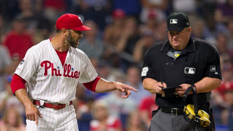 Gabe Kapler Was Nothing but Civil Arguing With Joe West Over an Ejection