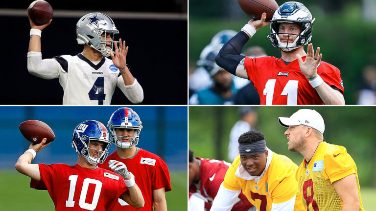NFC East Offseason Reports: How Long Will Eli Manning Remain Under Center for Giants?