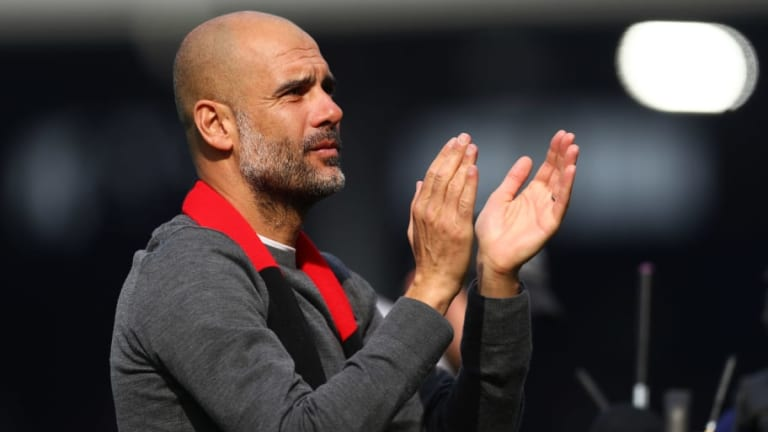 Pep Guardiola Addresses Sergio Aguero's Early Withdrawal Following Man City's 2-0 Win Over Fulham