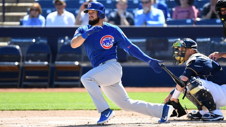Third Baseman David Bote Signs Five-Year Extension With Cubs