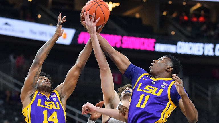 Watch: No. 19 LSU Upsets No. 5 Kentucky 73–71 on Controversial Tip-In at Buzzer