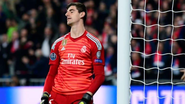 Llegar al Real Madrid no le hizo bien a Thibaut Courtois