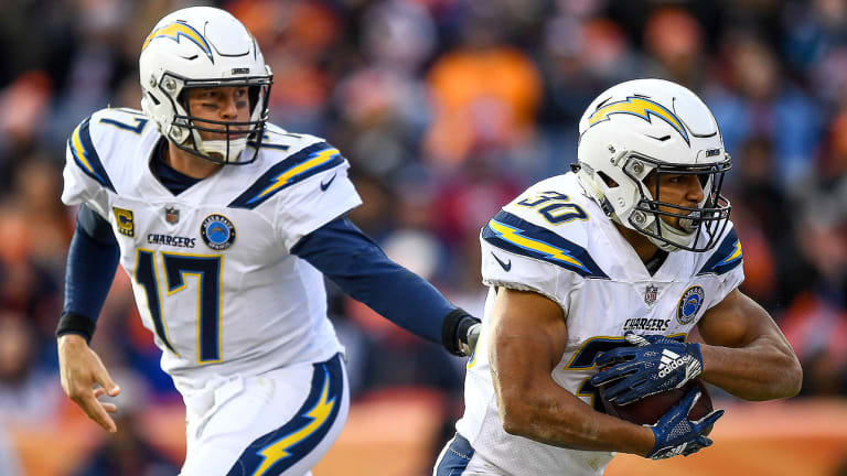 Austin Ekeler Expected to Go for the Chargers, More Wild-Card News and Updates