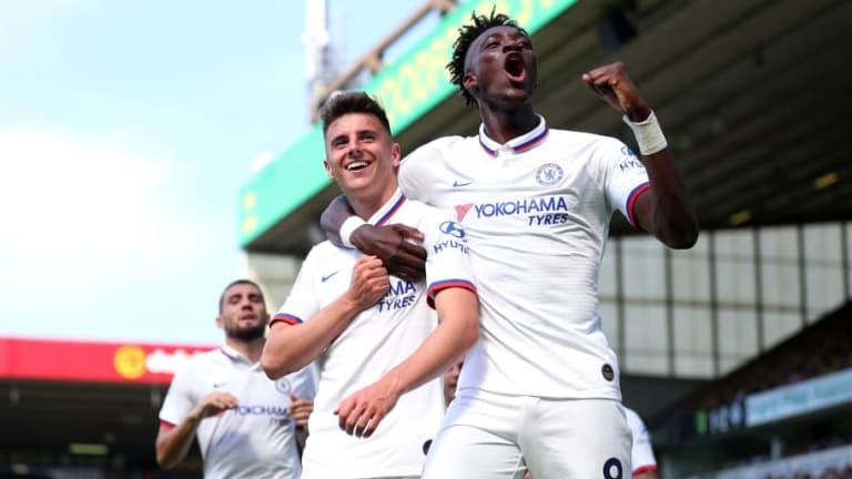 Norwich 2-3 Chelsea: Report, Ratings & Reaction as Abraham Double Lands Lampard's First Win