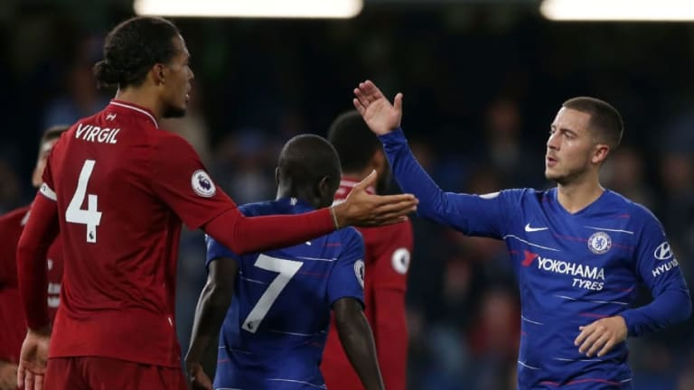UEFA Announce Fans' Team of the Year for 2018 as Van Dijk, Kante and Hazard Make the Cut