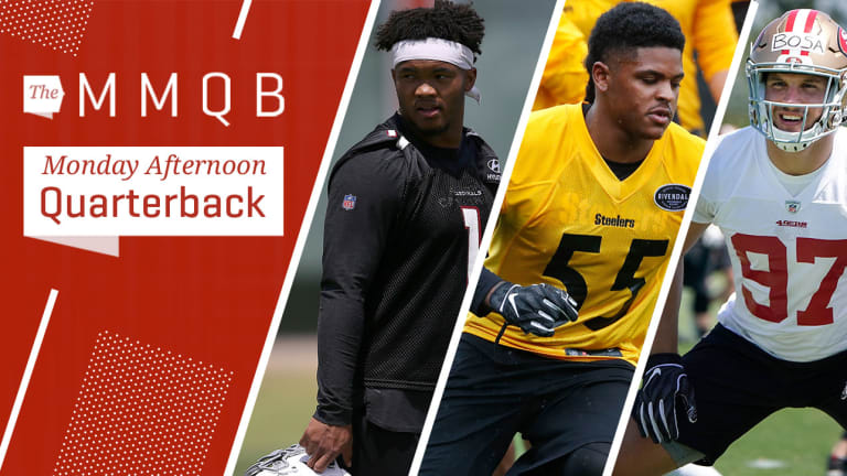 Cardinals on Murray's Progress, Why Bush Is Crucial for Steelers, More NFL Notes