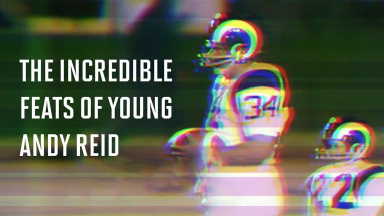 The Incredible Feats of Young Andy Reid
