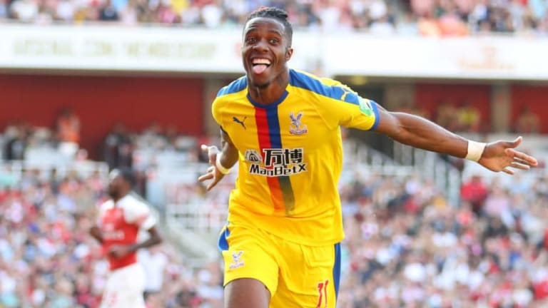 Crystal Palace to Demand £100m for Wilfried Zaha to Fend Off Arsenal Interest